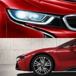 BMWi8にレッドカラーが登場!!
